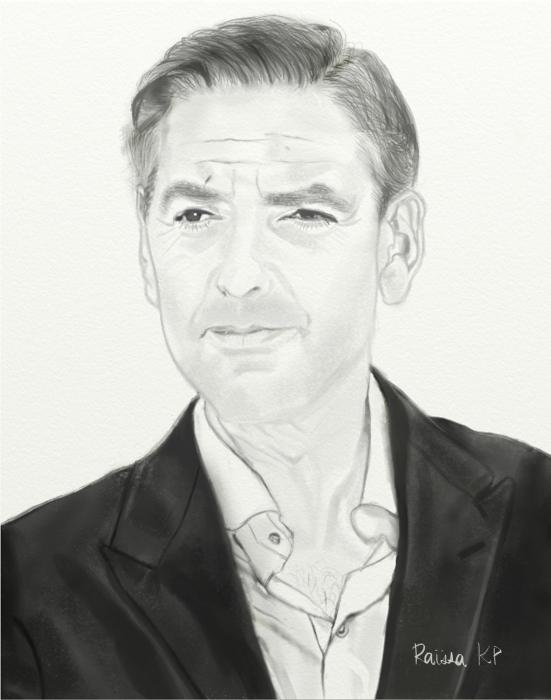 George Clooney por RaissaKP